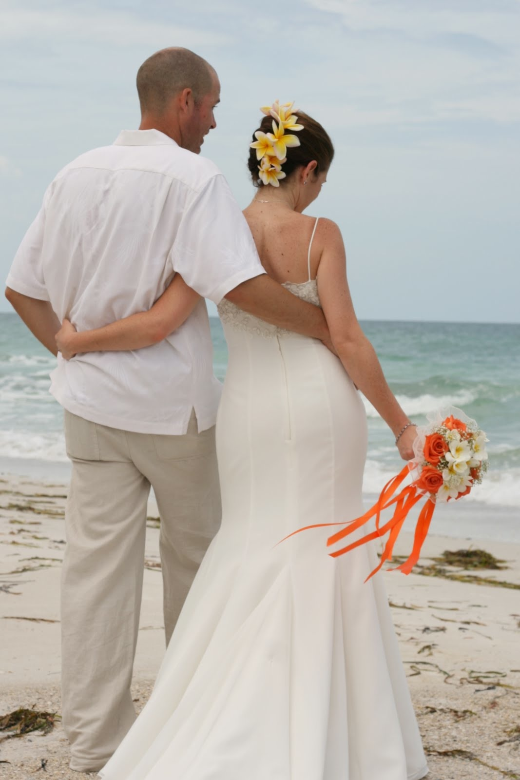 Beach Wedding by Holli Margell